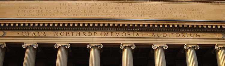 Columns at Northrop, home to UHP