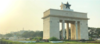 The Black Star Gate located in Accra that symbolizes Ghana's independence