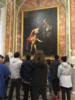Viewing Caravaggio's 'Madonna and Child with St. Anne' at Galleria Borghese